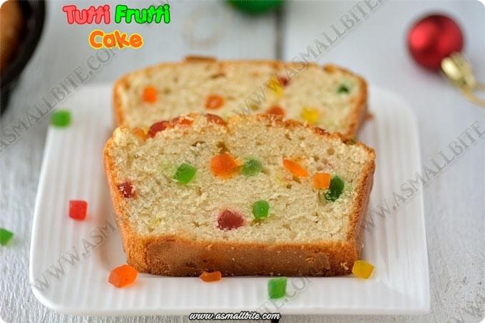 Vanilla Sponge Cake 1