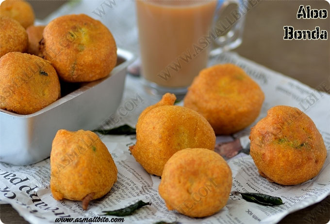 Aloo Bonda Recipe 1