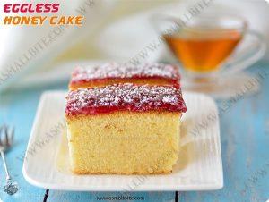 Eggless Honey Cake Recipe 1