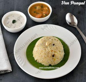 Khara Pongal Recipe 1