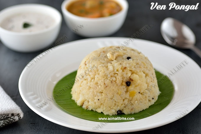 Khara Pongal Recipe