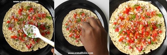 Masala Papad Recipe Steps4