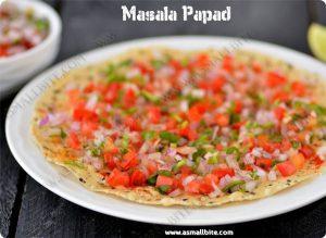 Masala Pappad Recipe 1