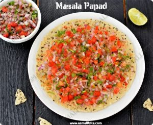 Masala Pappad Recipe