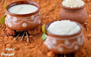 Milk Pongal Recipe 1