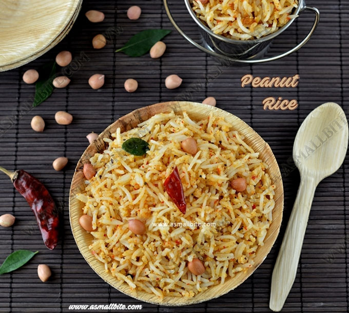 Peanut Rice Recipe 1