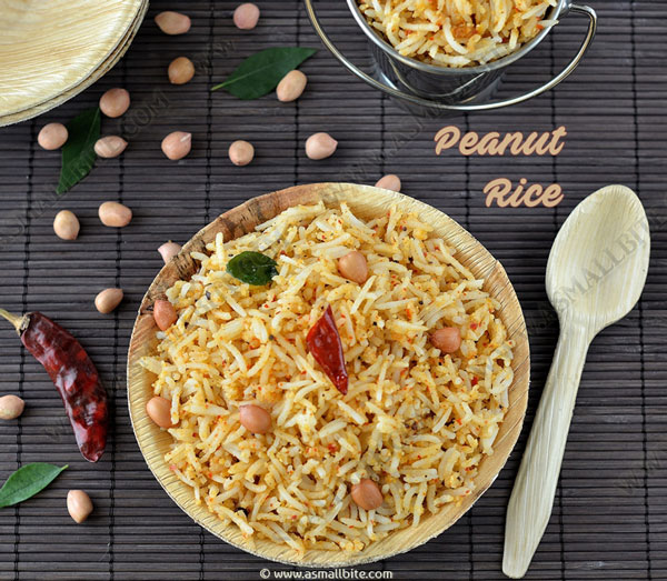 Peanut Rice Recipe 2