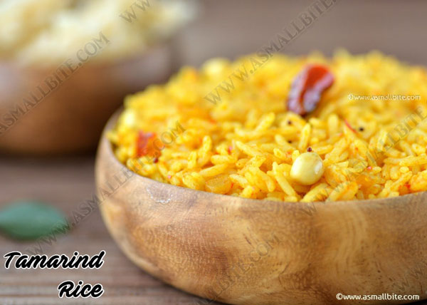 Tamarind Rice Recipe 1
