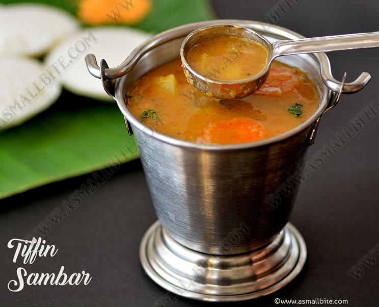 Tiffin Sambar Recipe 1