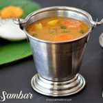 Tiffin Sambar Recipe | Hotel Style Tiffin Sambar