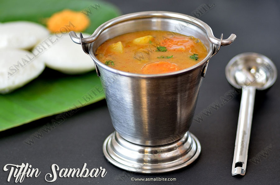 Tiffin Sambar Recipe