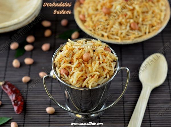 Peanut Rice Recipe | Verkadalai Sadam
