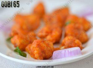 Cauliflower 65 Recipe 1