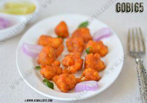 Cauliflower 65 Recipe