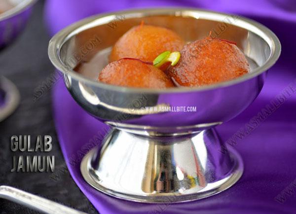 Gulab Jamun Recipe 1