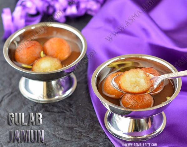 Gulab Jamun With Milk Powder 1