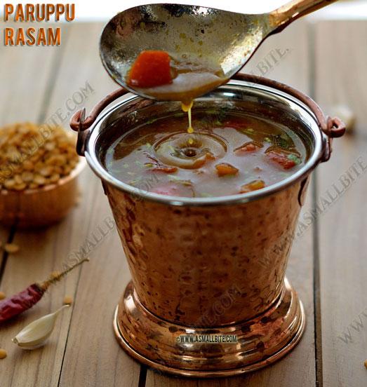 Paruppu Rasam Recipe 1