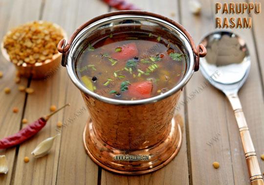 Paruppu Rasam Recipe