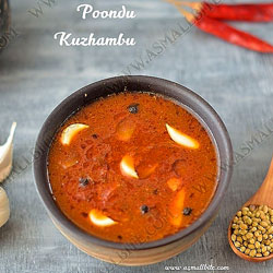Poondu Puli Kuzhambu Recipe Index