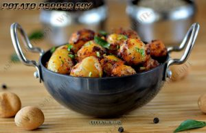 Potato Pepper Fry Recipe