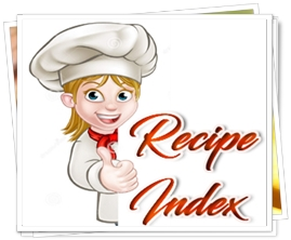 Recipe Index Asmallbite