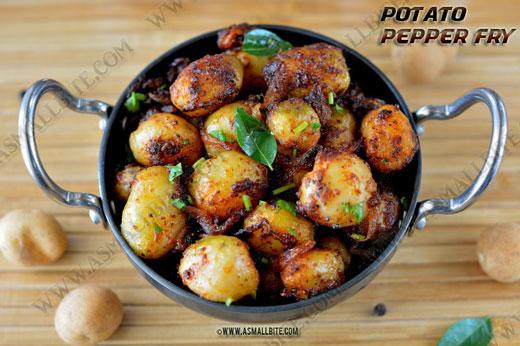 Small Potato Fry Recipe 1