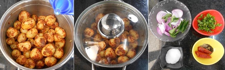 Small Potato Fry Recipe Steps4