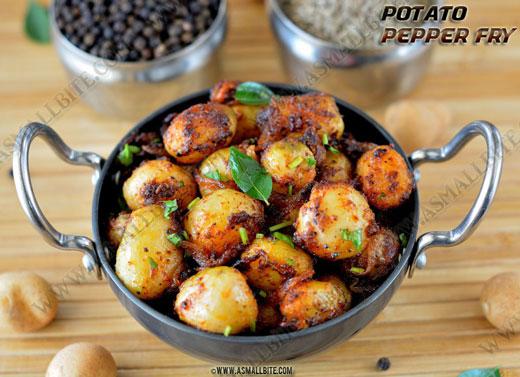 Small Potato Fry Recipe