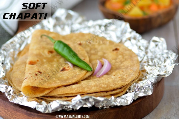 Soft Chapati Recipe 1
