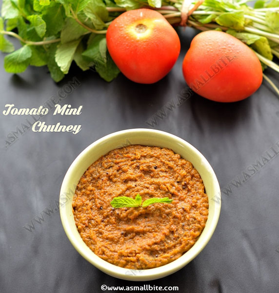 Tomato Mint Chutney Recipe