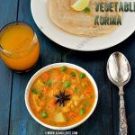 Vegetable Korma Recipe 1
