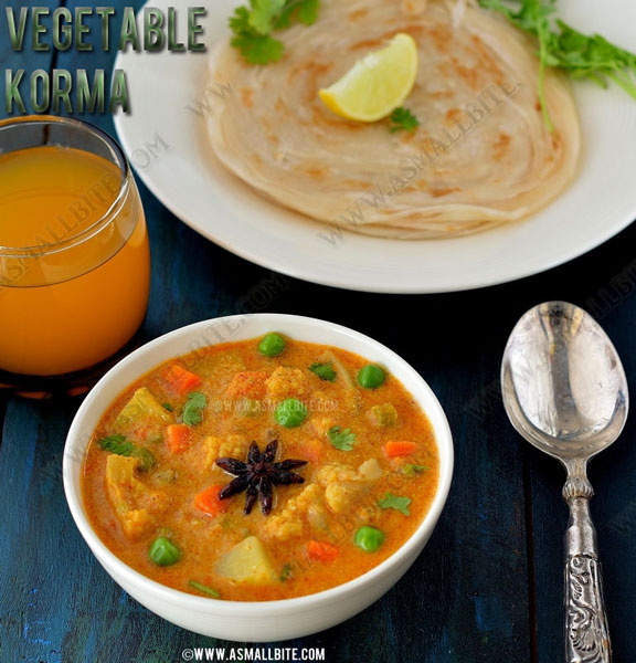 Vegetable Korma Recipe