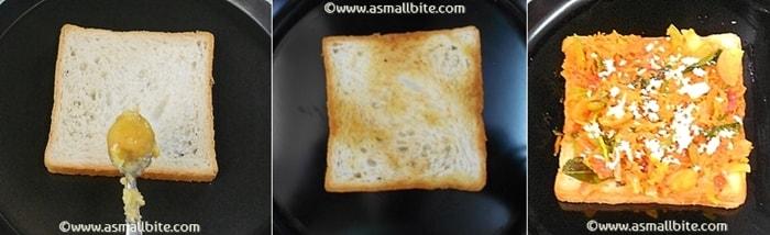 Vegetable Masala Sandwich Steps5