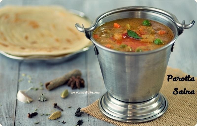 Vegetable Salna Recipe | Parotta Chalna | Parotta Sidedish