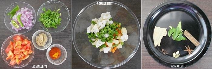 Vegetable Korma Recipe Steps1