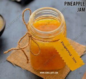 Homemade Pineapple Jam