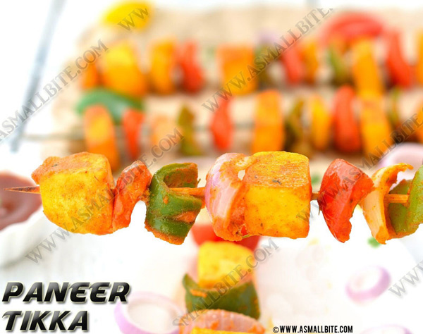 How to make Paneer Tikka 1