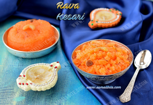 How to make rava kesari 2