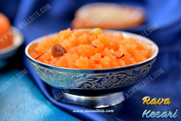 How to make rava kesari