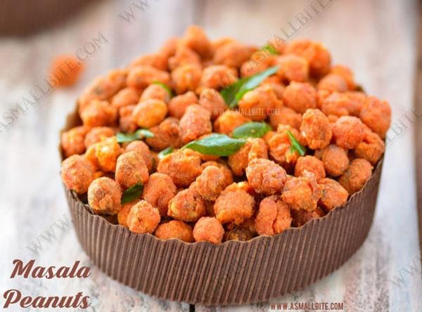Masala Peanuts Recipe | Kadalai Pakoda