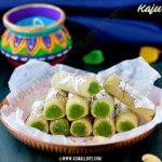 Kaju Pista Roll Recipe 2