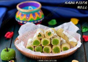 Kaju Roll Recipe 1