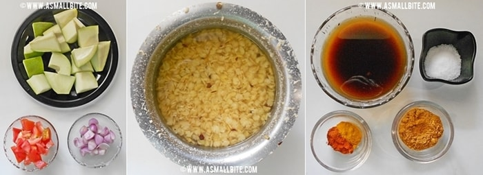 Mango Sambar Recipe Steps1