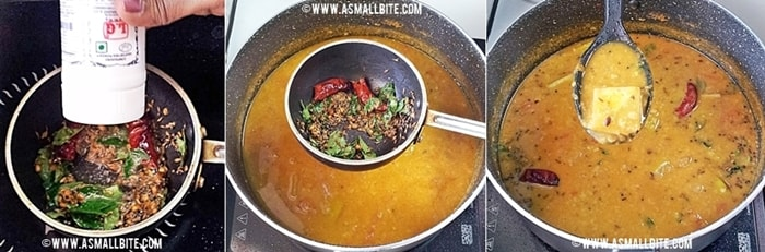 Mango Sambar Recipe Steps7