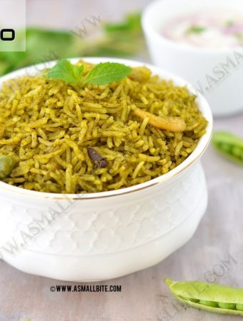 Mint Pulao Recipe 1