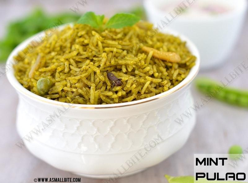 Mint Rice Recipe