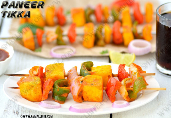 Paneer Tikka Recipe 1