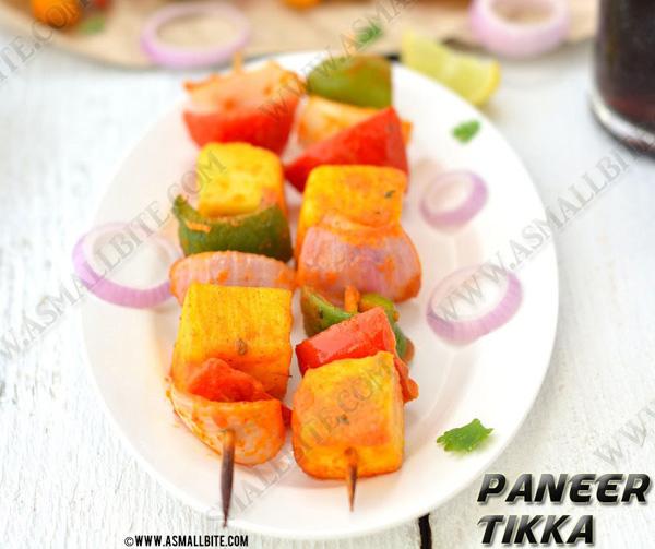 Paneer Tikka Recipe   How to make Paneer Tikka