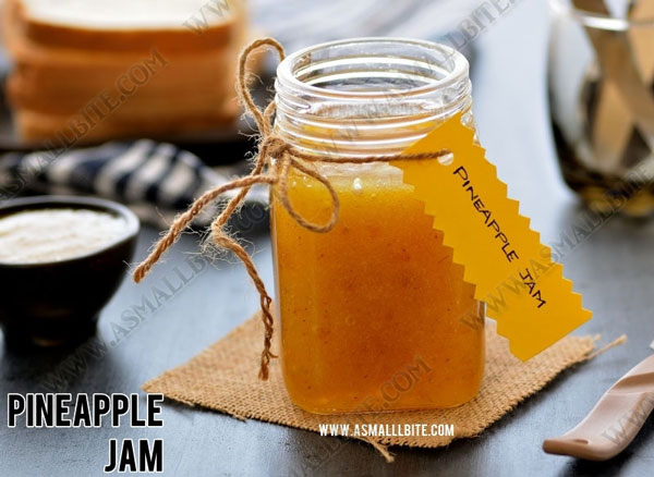 Pineapple Jam Recipe 1