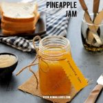 Pineapple Jam Recipe | Homemade Pineapple Jam